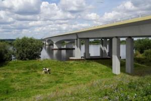 Мост в Груджьондз - Полша